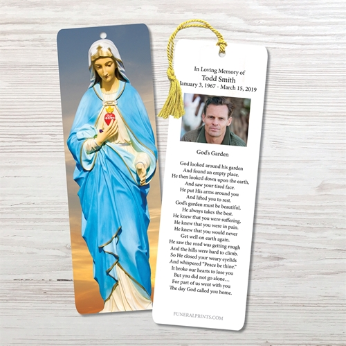 Picture of Virgin Mary Sky 2 Bookmark