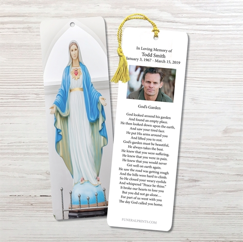 Picture of Blessed Virgin Mary Bookmark