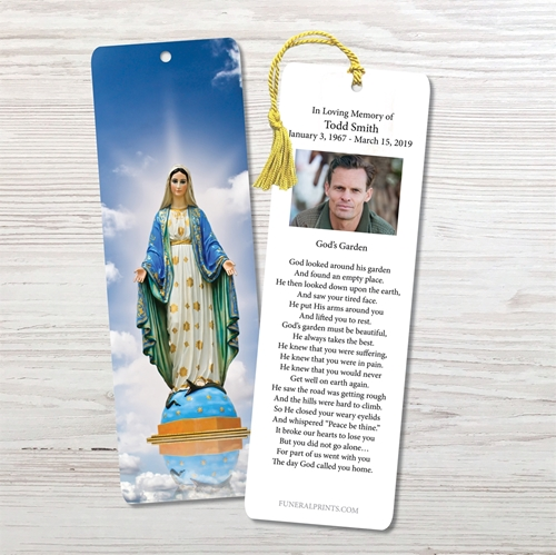 Picture of Virgin Mary Sky Bookmark