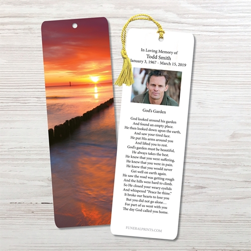 Picture of Sunset Bay Bookmark