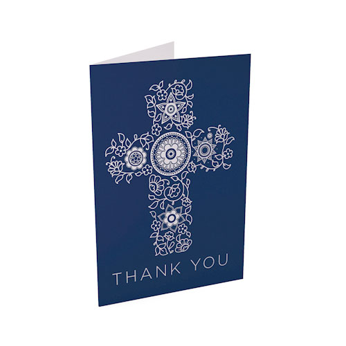 Picture of Elegant Cross Thank You Card