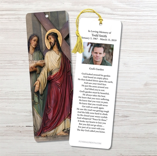 Picture of Jesus Carrying Cross Bookmark