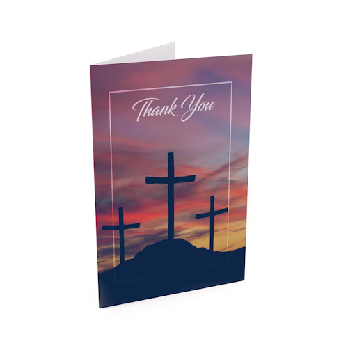 Picture of Calvary Thank You Card