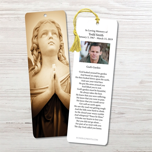 Picture of Sepia Angel Bookmark
