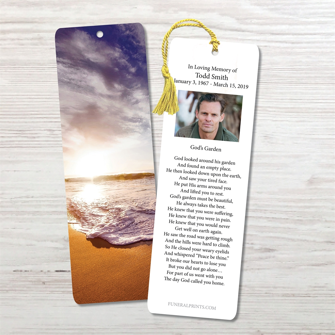Picture of Oceanfront Bookmark