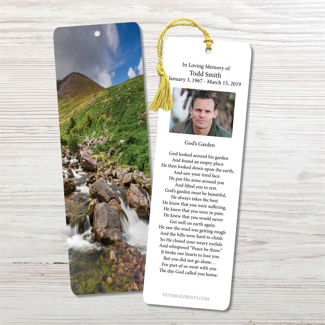 Picture of Stream in Countryside Bookmark