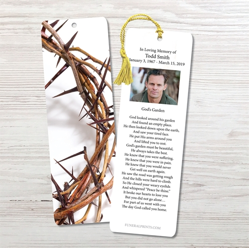 Picture of Crown of Thorns Bookmark