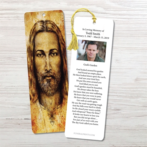 Picture of Jesus Bookmark