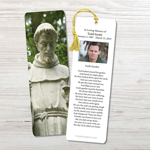 Picture of Saint Francis of Assisi Bookmark