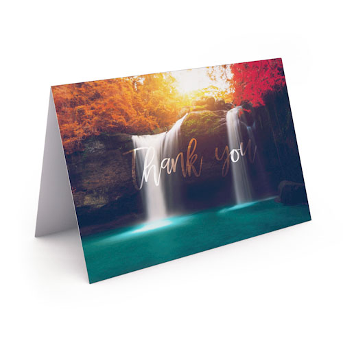 Picture of Serenity Thank You Card
